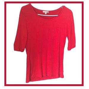 Zenana Round Neck 3/4 Sleeve T-Shirt